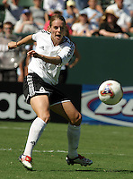 Nia Kuenzer, Germany 2-1 over Sweden at the  WWC 2003 Championships.