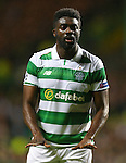 Kolo Toure of Celtic calms the play during the Champions League Group C match at the Celtic Park Stadium, Glasgow. Picture date: September 28th, 2016. Pic Simon Bellis/Sportimage