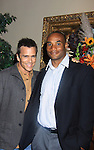 "General Hospital's Scott Reeves ""Dr. Steven Lars Webber"" is the Celebrity Grand Marshal and Sports Celebrity Virginia Tech, NFL, WFL wide receiver Shawn Scales at the 33rd Annual Mountain State Apple Harvest Festival (MSAHF) 2012 on October 20, 2012 at the Queen's Grand Ball at the Historic Shenandoah Hotel in Martinsburg, West Virginia. (Photo by Sue Coflin/Max Photos)"