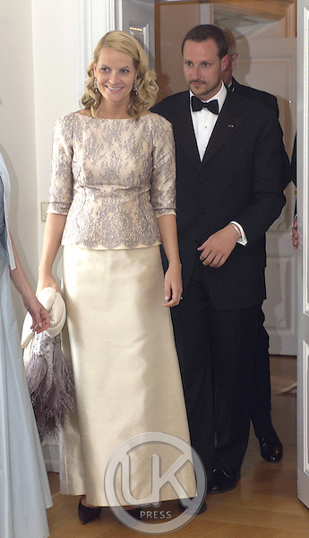 Crown Prince Haakon & Crown Princess Mette-Marit of Norway's visit to Iceland.Dinner at the Presidential Residence Bessasta.