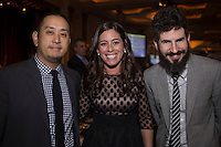 Joe Hahn and Brad Delson attend The International Medical Corps Gala on Nov. 12, 2015 (Photo by Jason Sean Weiss/Guest of a Guest)