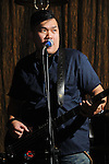 Kaohsiung, Taiwan -- James Huang of Kaohsiung band RELOAD performing live at DC Stage.