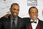 "Love Boat's Ted Lange ""Issac"" with Maurice Hines at The National Black Theatre Festival with a week of plays, workshops and much more with an opening night gala of dinner, awards presentation followed by Black Stars of the Great White Way followed by a celebrity reception. It is an International Celebration and Reunion of Spirit. (Photo by Sue Coflin/Max Photos)"