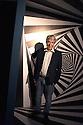 Federico Giudiceandrea, industrialist and collector, poses at Escher exhibition that takes place at Palazzo Reale from June 24 to Jannuary 27, 2017, Milan June 23, 2016. Giudiceandrea is one of the curator of exhibition and also the main Escher collector in Europe. &copy; Carlo Cerchioli<br /> <br /> Federico Giudiceandrea, industriale e collezionista, posa alla mostra su Escher che si tiene a Palazzo Reale dal 24 giugno al 27 gennaio 2017, Milano 23 giugno 2016. Giudiceandrea &egrave; uno dei curatori della mostra ed &egrave; il pi&ugrave; grande collezionista privato europeo di Escher.