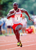 Ben Johnson Canadian Athletics 1988. Photo Scott Grant