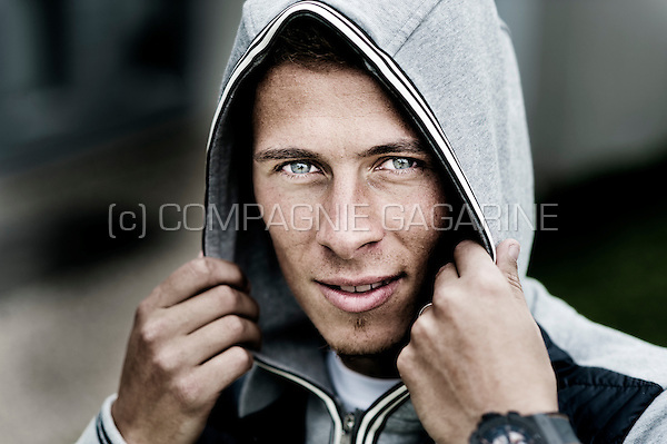 Belgian football player Thorgan Hazard (Germany, 08/09/2015)