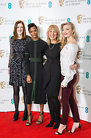 www.acepixs.com<br /> <br /> January 9 2018, London<br /> <br /> (L-R) Amanda Berry, Letitia Wright, Jane Lush and Natalie Dormer taking part at The EE British Academy Film Award, BAFTA, nominations announcement at BAFTA on January 9, 2018 in London, England.<br /> <br /> By Line: Famous/ACE Pictures<br /> <br /> <br /> ACE Pictures Inc<br /> Tel: 6467670430<br /> Email: info@acepixs.com<br /> www.acepixs.com