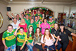 ALL-IRELAND: A great crowd gathered at Tom McCarthy's Bar,Castleisland on Sunday to watch the All Ireland Finals between Kerry and Donegal.
