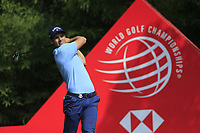 Andrea Pavan (ITA) on the 2nd tee during the final round of the WGC HSBC Champions, Sheshan Golf Club, Shanghai, China. 03/11/2019.<br /> Picture Fran Caffrey / Golffile.ie<br /> <br /> All photo usage must carry mandatory copyright credit (© Golffile | Fran Caffrey)