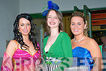 RACE NIGHT: Enjoying their night at the Lee Strand evening of racing at the Kingdom Greyhound Stadium on Friday night l-r: Rita O'Shea, Spa Road, Melissa Culloty, Killarney and Cathriene Moriarty, Kevin Barry Villias.   Copyright Kerry's Eye 2008