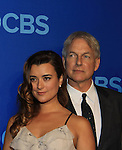 NCIS Cast - Cote de Pablo - Mark Harmon at the CBS Upfront on May 15, 2013 at Lincoln Center, New York City, New York. (Photo by Sue Coflin/Max Photos)