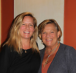 Guiding Light and OLTL's Kim Zimmer poses with her daughter Rachel as Kim  stars in The Shuck on opening nght 9/26/18 at the Cape May Stage in Cape May, New Jersey. (Photo by Sue Coflin/Max Photo)