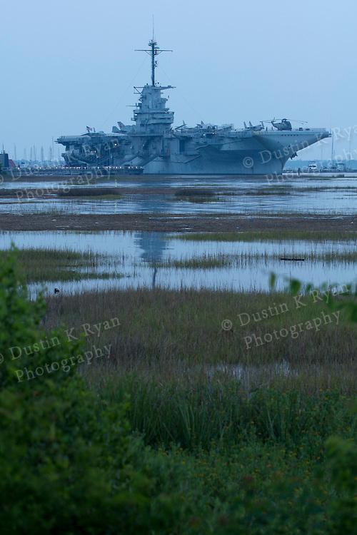 uss Yorktown Aircraft Carrier in Mt Pleasant Charleston South Carolina Tourist attraction