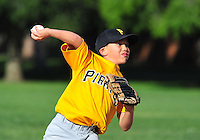 PNLL AA Pirates action 2015. (Photo by AGP Photography)