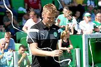 GRONINGEN - Voetbal, Open dag FC Groningen ,  seizoen 2017-2018, 06-08-2017,  FC Groningen keeper trainer  Bas Roorda