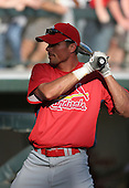 Rick Ankiel of the St. Louis Cardinals vs. the Atlanta Braves March 16th, 2007 at Champion Stadium in Orlando, FL during Spring Training action.  Photo copyright Mike Janes Photography 2007.