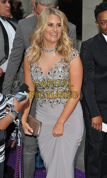 Danielle Armstrong at the Caudwell Children Butterfly Ball, Grosvenor House Hotel, Park Lane, London, England, UK, on Wednesday 22 June 2016.<br /> CAP/CAN<br /> &copy;CAN/Capital Pictures