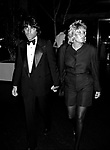 "Lorna Luft with her Husband Jake attending a Screening of "" NEW YORK, NEW YORK "" with a Party at Halston's Apartment in New York City.<br />