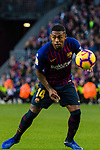 Malcom Filipe Silva de Oliveira of FC Barcelona in action during the La Liga 2018-19 match between FC Barcelona and Real Betis at Camp Nou, on November 11 2018 in Barcelona, Spain. Photo by Vicens Gimenez / Power Sport Images