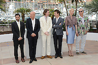 "Bruce Willis, Wes Anderson, Edward Norton, Tilda Swinton and Bill Murray attending the ""Moonrise Kingdom"" Photocall during the 65th annual International Cannes Film Festival in Cannes, 16th May 2012...Credit: Timm/face to face /MediaPunch Inc. ***FOR USA ONLY***"