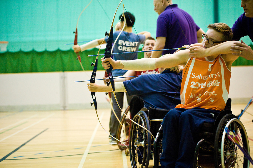 Editorial coverage of events at SPORT Manchester's Inclusive Sports Day at the Sugden Centre, Manchester, UK.