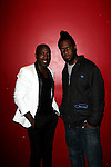 "RECORDING ARTIST ABIAH AND KEYBOARDIST ROBERT GLASPER AT THE LIVE CONCERT CELEBRATING THE RELEASE OF ""LIFE AS A BALLAD"" AT Le Poisson Rouge, NY"