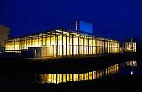 Nederland - Amsterdam 2019. Science Park. Universiteit van Amsterdam. De Faculteit der Natuurwetenschappen, Wiskunde en Informatica (FNWI) van de Universiteit van Amsterdam. Het Kassencomplex.   Foto Berlinda van Dam / Hollandse Hoogte