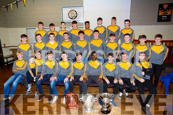 Austin Stack GAA medal presentation to Minor at  Austin Stacks GAA Tralee Connolly Park on Friday