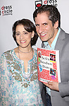 Judy Kuhn and Seth Rudetsky attend the Seth Rudetsky Book Launch Party for 'Seth's Broadway Diary' at Don't Tell Mama Cabaret on October 22, 2014 in New York City.