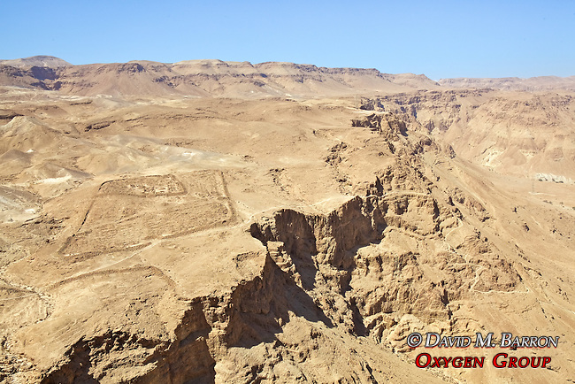 Legionary Camps At Masada