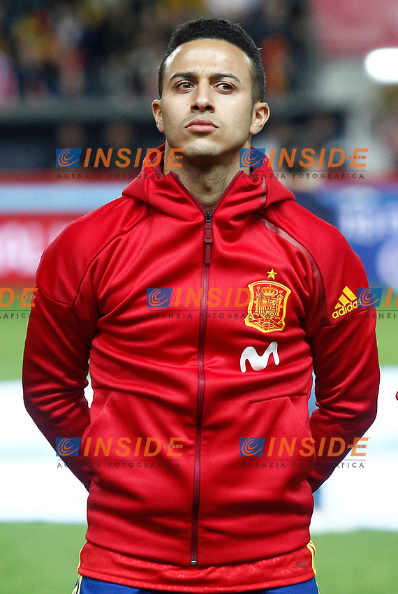 Spain's Thiago Alcantara during FIFA World Cup 2018 Qualifying Round match. <br /> Gijon 24-03-2017 Stadio El Molinon <br /> Qualificazioni Mondiali <br /> Spagna - Israele <br /> Foto Acero/Alterphotos/Insidefoto <br /> ITALY ONLY