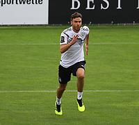 Jonas Hector (Deutschland Germany) - 24.05.2018: Training der Deutschen Nationalmannschaft zur WM-Vorbereitung in der Sportzone Rungg in Eppan/Südtirol
