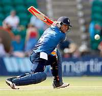 Heino Kuhn clips the ball to the boundary for four which brought up his hundred for Kent during the Royal London One Day Cup game between Kent and Gloucestershire at the County Ground, Beckenham, on June 3, 2018