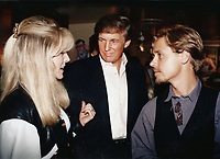 1994 <br /> Marla Maples Donald Trump Chad Lowe<br /> Photo By John Barrett-PHOTOlink.net/MediaPunch