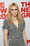 Zosia Mamet attends the World Premiere of Hamish Linklater's 'The Whirligig' at Green Fig's Social Drink and Food Club Terrace on May 21, 2017 in New York City.