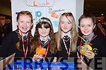 Brosna NS pupils Danika Curtin, Emma Conway, Aoife Conway and Síocha McAulliffe with their Soapy Surprise