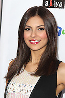 SANTA MONICA, CA - OCTOBER 27: Victoria Justice at the Keep A Child Alive 2012 Dream Halloween Party at Barker Hangar on October 27, 2012 in Santa Monica, California.  Credit: mpi20/MediaPunch Inc. /NortePhoto