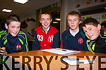 Answer Quick<br /> ----------------<br /> Kilcummin,Killarney GAA U17 team L-R Danial Keane,Cormac O'Connor,Ivor Moynihan and Michael Brosnan