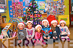 Children at Raheen Community Playgroup in Killarney have got into the spirit of Christmas through 'Operation Santa' to help other children in Kerry. <br /> L-R Jonah Casey, Laura Griffin, Kayleigh and Tadhg Scannell, Lily Ann Reen and Niamh Brosnan.