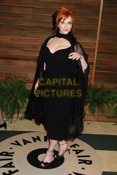 02 March 2014 - West Hollywood, California - Christina Hendricks. 2014 Vanity Fair Oscar Party following the 86th Academy Awards held at Sunset Plaza.  <br /> CAP/ADM/BP<br /> &copy;Byron Purvis/AdMedia/Capital Pictures