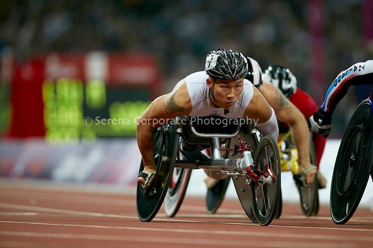 London Paralympic Games - Athletics 6.9.12