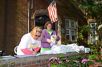 Christine Higgins, left and Jean Anderson - There's No Place Like Home, New Haven CT.