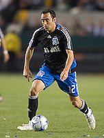 Ramiro Corrales,.San Jose Earthquakes vs Los Angeles Galaxy, April 4, 2008, in Carson California. The Galaxy won 2-0.
