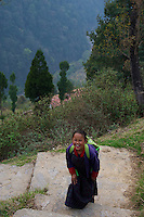 On the way to Trongsa, Bhutan