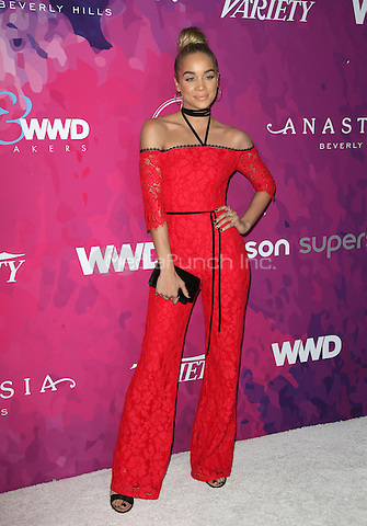 WEST HOLLYWOOD, CA - NOVEMBER 17: Jasmine Sanders at Variety And WWD's 2nd Annual StyleMakers Awards at Quixote Studios West Hollywood on November 17, 2016 in West Hollywood, California. Credit: Faye Sadou/MediaPunch