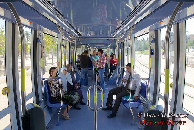 Jerusalem's New Light Rail System