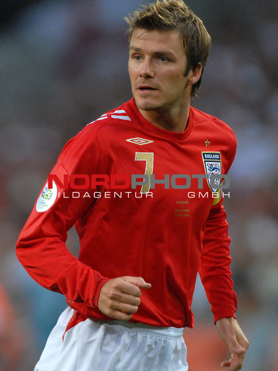 FIFA WM 2006 -  Gruppe B Vorrunde ( Group B )<br /> Play    #35 (20-Jun) - Schweden vs England <br /> <br /> David Beckham (ENG)<br /> <br /> Foto &copy; nordphoto