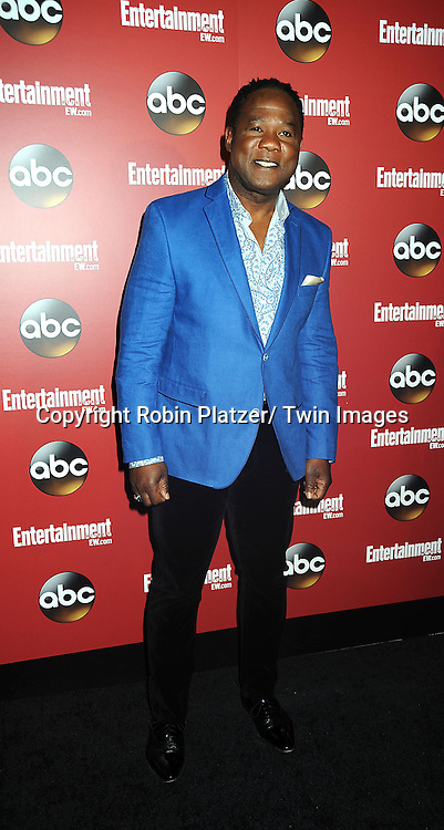 """Isiah Whitlock, Jr of """" Lucky-Y"""" at the Entertainment Weekly and ABC-TV Upfront Party at The General on May 14, 2013 in New York City."""