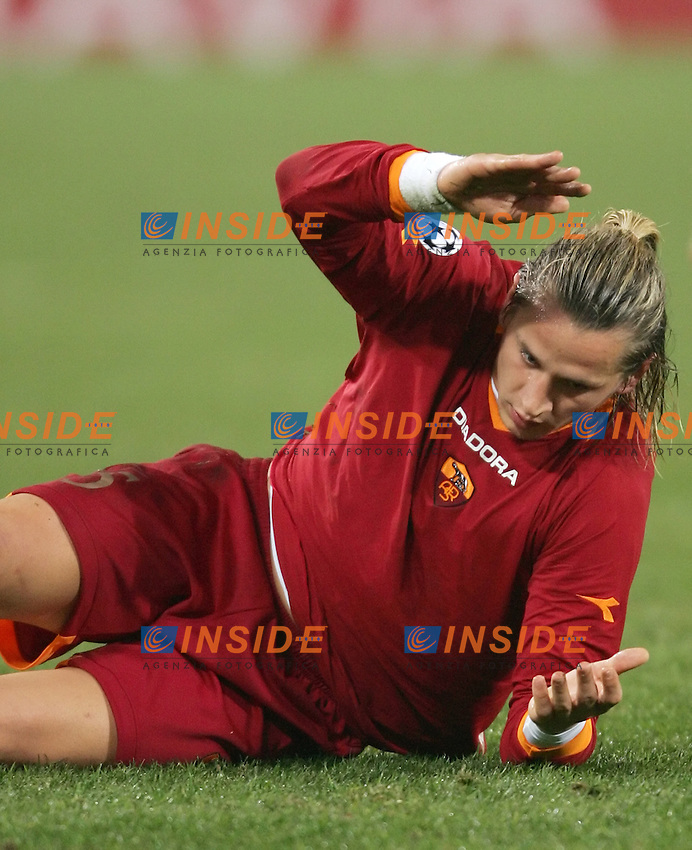 Philippe Mexes (Roma)<br /> Champions League 2006-2007<br /> 5 Dec 2006 (Group Stage, group D, Match Day 6)<br /> Roma - Valencia (1-0)<br /> &quot;Olimpico&quot; Stadium - Roma - Italy<br /> Photographer: Andrea Staccioli Inside