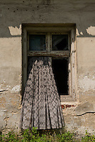 Abandoned building, Grabine - Grabina, Prudnik County, Opole Voivodship, Silesia, Poland